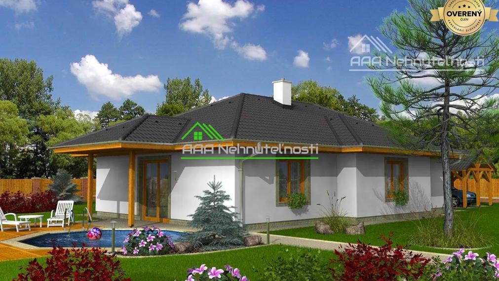 Rodinný dom v obci Bretejovce, úžitková plocha 110 m2, pozemok 580 m2